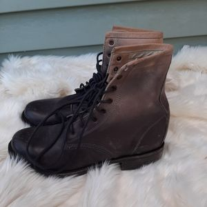 Freebird ombre Leather Boots Sz 7